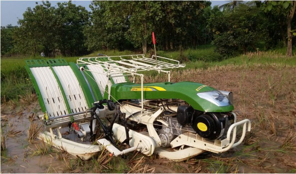 Bukaka Rice Transplanter