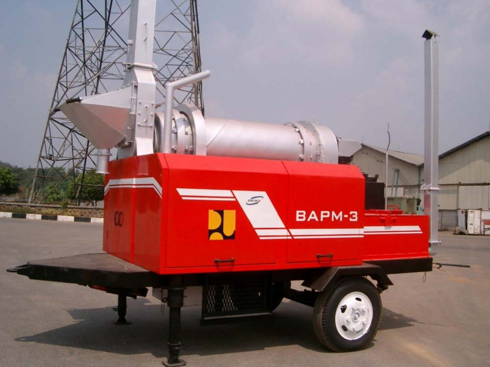 Bukaka Asphalt Patch Mixer