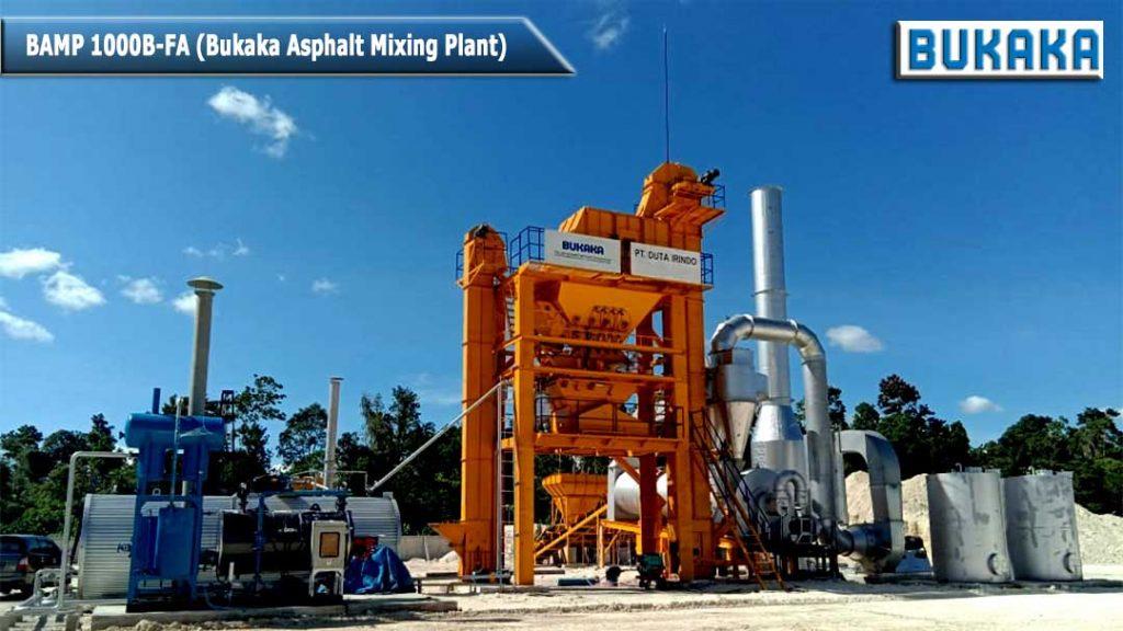 Bukaka Asphalt Mixing Plant