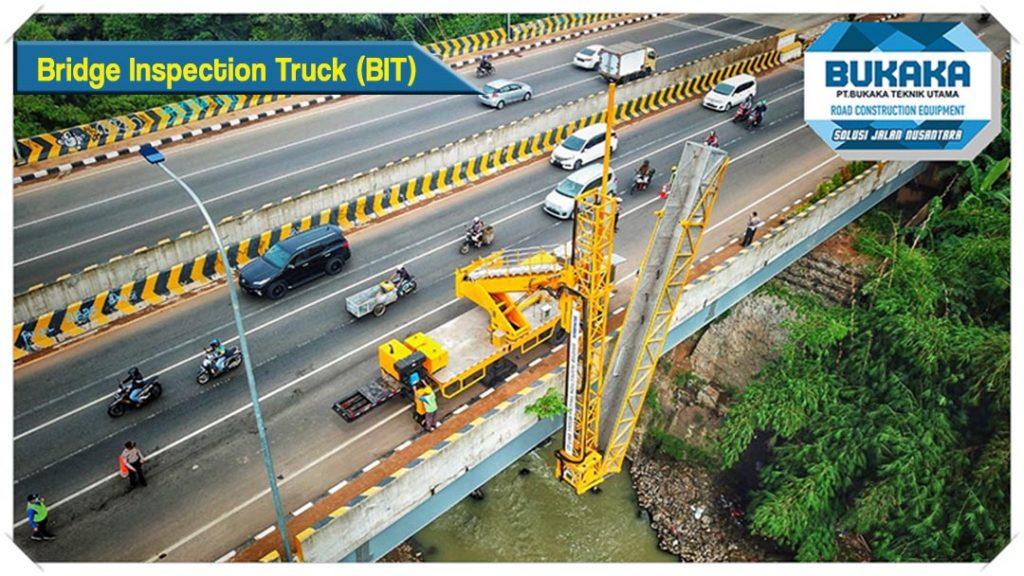 Bukaka Bridge Inspection Truck