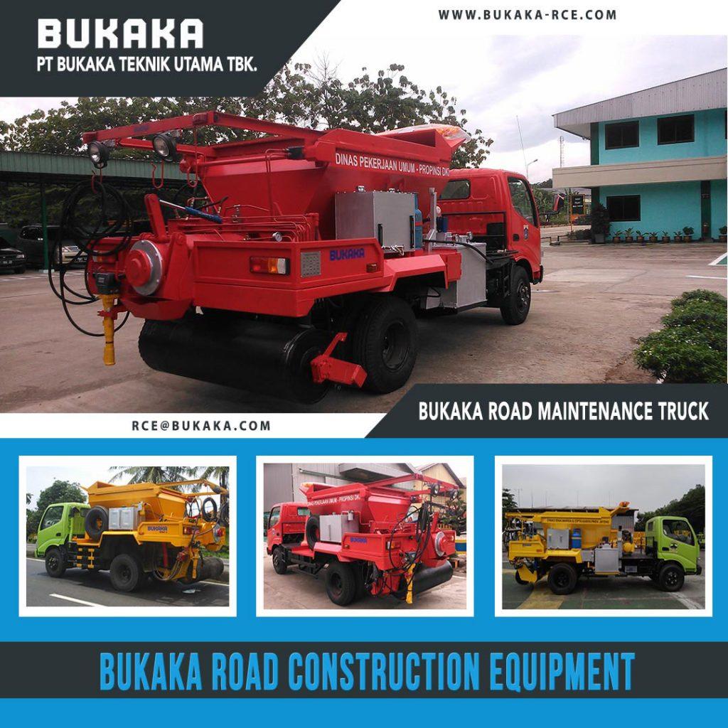 Bukaka Road Maintenance Truck